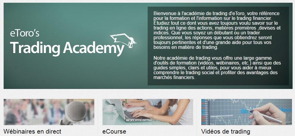 eToro academy