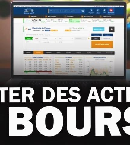 Comment acheter des actions en bourse en ligne ?